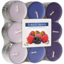 Scented candles, tealight: berries 18 pieces.