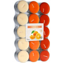 Scented candles, tealight: Orange 30 pcs.