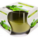 Green Tea Scented candle in glass
