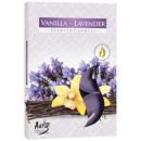 Duftkerzen, Teelicht: Vanille und Lavendel