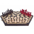 wholesale Parlor Games: Chess for three players, small