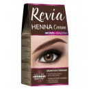 wholesale Make up: Revia HENNA FOR EYEBROWS cream BLACK