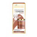 hurtownia Make-up: HIGHLIGHT&CONTOUR rozświetlacz do twarzy BRONZE