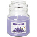SMALL CANDLE LIGHT GLASS WITH LAVENDER
