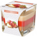 Apple & Cinnamon CANDLES THREE THREE GLASS COL