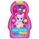 KIDS Shampooing et Gel Lavant 2 en 1 Limonade 250m