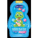 KIDS Shampooing et gel de lavage 2 en 1, Gomme 250