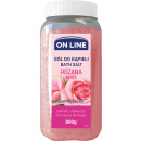 ON LINE Rose bath salt 800g