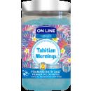 Foaming bath salt Tahitian Mornings 480g