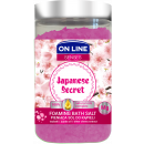 Foaming bath salt Japanese Secret 480g