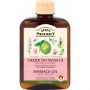 -Anti-Cellulite Massage-Öl - Zypresse, Lavendel