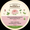 Großhandel Gesichtspflege: Grüne Apotheke Anti-Falten-Creme 150 ml Rose