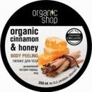 Organic Shop Body scrub Honey Cinnamon
