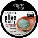 Organic Shop Body scrub Blue Clay