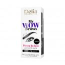 hurtownia Make-up: Henna gotowa do użycia do brwi 1.0 CZARNA 6ml