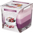 frozen Berries SCREE TRI-COLOR CANDLE IN SZK