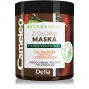 Ziołowa maska z dodatkiem henny - CZERWONA 250ml