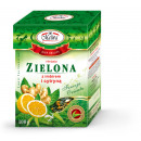 wholesale Artificial Flowers: GREEN LEAF TEA WITH GINGER AND LEMON 100g