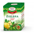 wholesale Artificial Flowers: GREEN LEAF TEA WITH PIGW FRUIT 100g