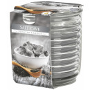Scented candle in corrugated glass Salt Cave
