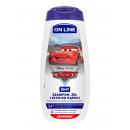 Disney 3in1 gel Cars Cranberry 400ml