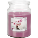 LARGE SCENTED CANDLE WITH A LID SPA GARDEN