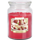 LARGE SCENTED CANDLE WITH A LID Raspberry cloud