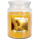 LARGE SCENTED CANDLE WITH A CAP Sunflowers