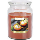 LARGE SCENTED CANDLE WITH A LID Grilled peach