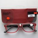 groothandel Consumer electronics: HANG ON leesbril, kleur burgundy / zwart sterkte +