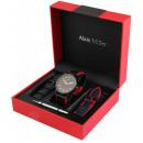 Alain Miller Uhrenset / Geschenkset Herrenuhr mit