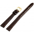 wholesale Jewelry & Watches: Basic real leather bracelet, in dark brown, shark,