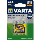 Varta Professional ACCU AA and AAA in a blister of