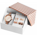 Excellanc Uhrenset / Geschenkset Damenuhr mit Meta