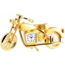 Dawn Miniaturuhr - Motorrad - Größe 5,8 cm