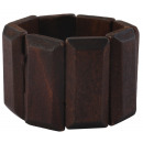 wholesale Accessories & Spare Parts: Cham Cham bangle made of wood in brown, color: 2