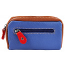 Excellanc key bag made of genuine leather. Format