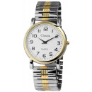 Classix men's watch with metal cord