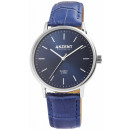 Akzent Exclusive men's watch with imitation le