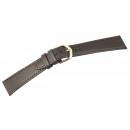 grossiste Accessoires & Pièce détachée: Bracelet basique en cuir véritable flac lisse marr