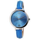 Q&Q women's watch with imitation leather s