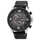 hurtownia Fashion & Moda: Elitarny męski zegarek z imitacją skóry, 3ATM, dal