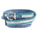 Cham Cham fashion jewelry wrap bracelet, measures: