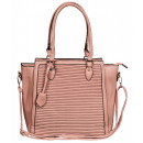 Damen Handtasche aus Lederimitat, Maße: 39x30x12cm