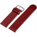 wholesale Accessories & Spare Parts: Anti-Allergic real leather straps, bordeaux - ...