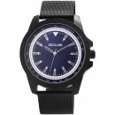 Excellanc men's watch with stainless steel mes