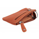 Excellanc key pouch made of real leather. Format 1