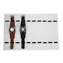 Visualización del reloj para 10 relojes con cubier