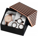 wholesale Jewelry & Watches: Excellanc watch set / gift set ladies watch with m