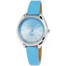 Excellanc Ladies Watch with Leather Imitation Brac